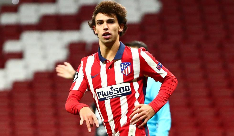 Joao Felix marcó el segundo gol del Atlético de Madrid | Foto: Agencias