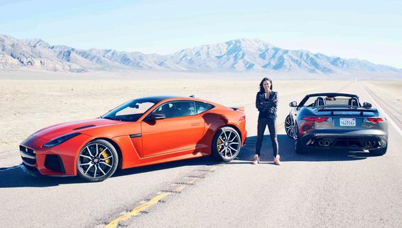 Michelle Rodríguez alcanzó los 323 km/h en un Jaguar [VIDEO]