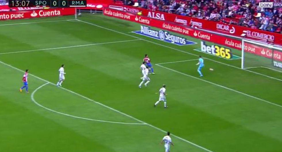 Real Madrid: desconcentración defensiva provocó gol de Gijón