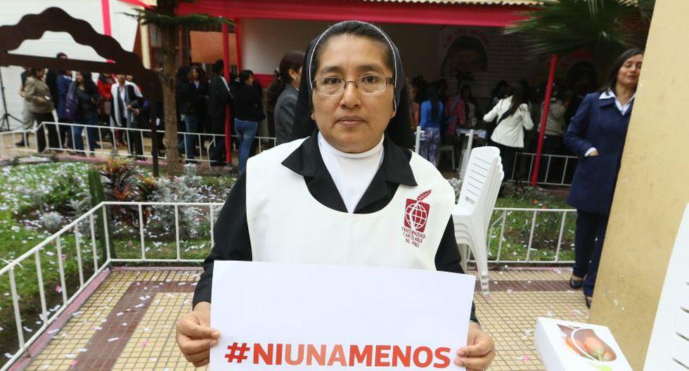 #NiUnaMenos: ministra Pérez Tello e internas se unieron a causa - 13
