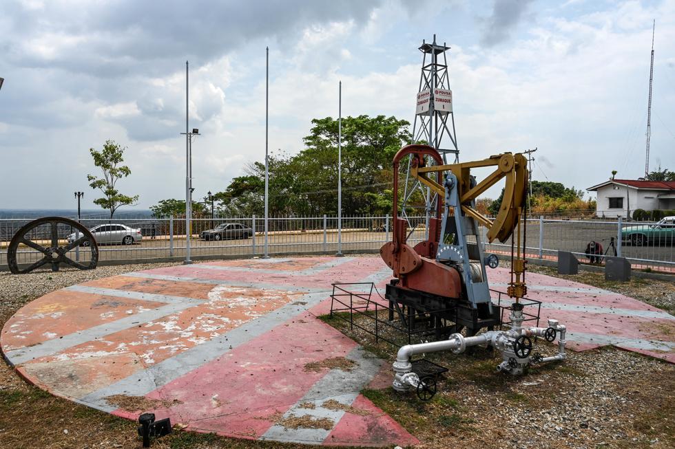 Mene Grande: En la cuna del petróleo de Venezuela reina la desolación. Foto: AFP