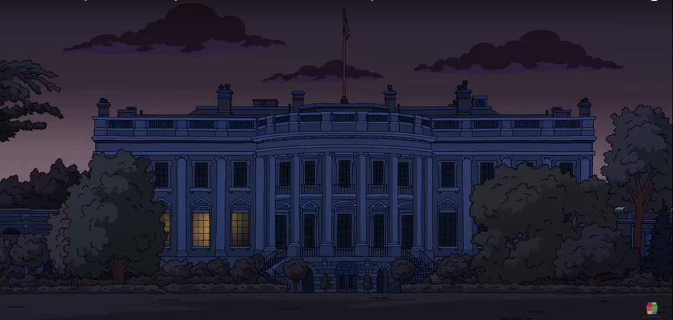 Este es el video que confirmaría que los Simpson predijeron el apagón en la Casa Blanca. (Foto: Fox)