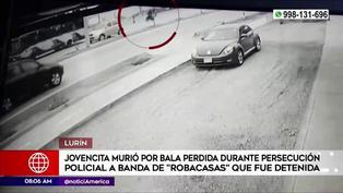 Lurín: Mujer perdió la vida por bala perdida durante persecución policial