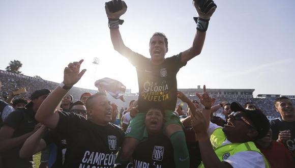 Leao Butrón ganó tres títulos con Alianza Lima: 2003, 2004 y 2017. (Foto: Alonso Chero / GEC)