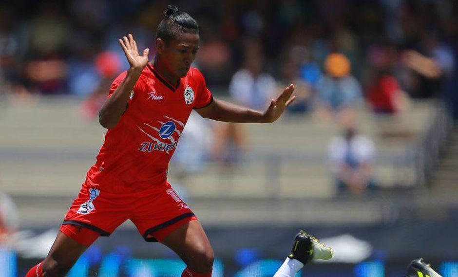 Pedro Aquino ha defendido a Lobos BUAP, con quien perdió la categoría recientemente. Ahora su futuro estaría en Cruz Azul, uno de los tres equipos más importantes de México. (Foto: MX SPORT)