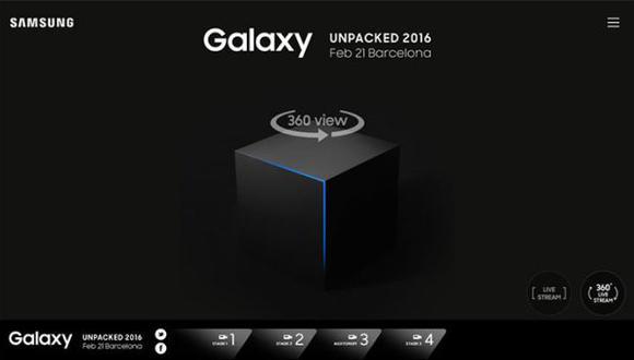 MWC2016: sigue el evento de Samsung a modo de realidad virtual