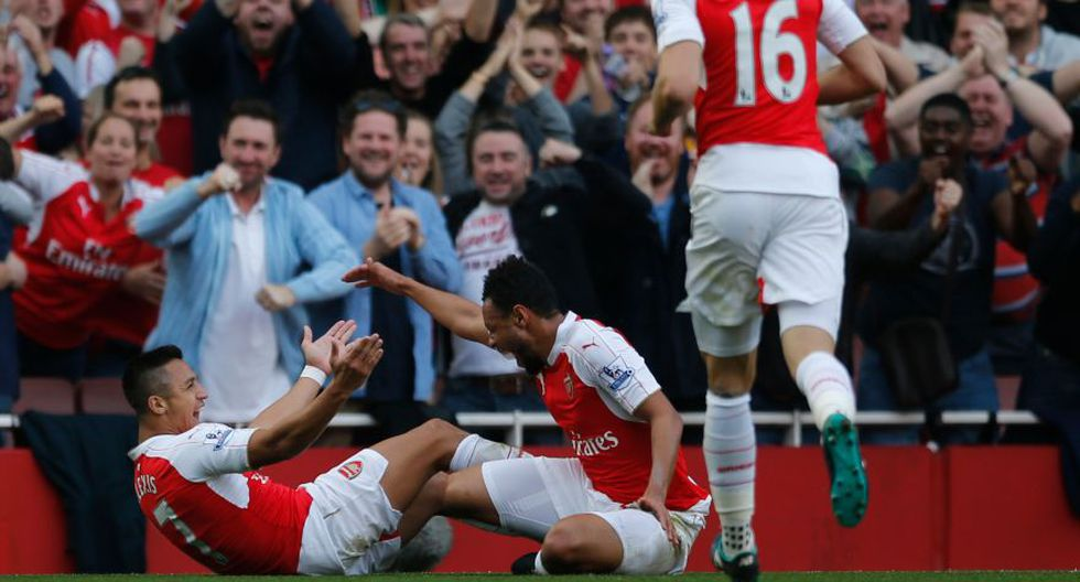 Alexis Sánchez: goles y celebraciones en la victoria de Arsenal - 4
