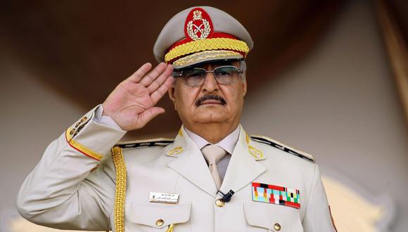 Las fuerzas del mariscal Haftar anuncian el cese del fuego en Libia. (AFP)