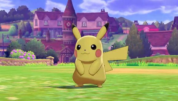 Pikachu estará presente en Pokémon Escudo y Espada. (Captura de pantalla)