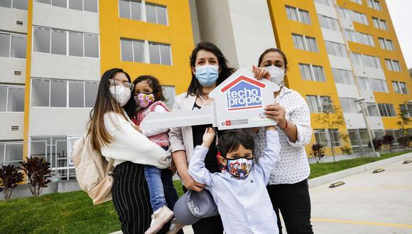El programa Techo Propio ha beneficiado a miles de peruanos que buscan su propia vivienda. (Foto: Difusión)