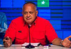"""Chavista Diosdado Cabello reclamará bienes del diario """"El Nacional"""" si no le paga indemnización de US$13 millones"""