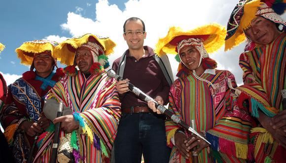 Marcelo odebrecht en el Perú en una imagen del 2009. (Rolly Reyna, El Comercio).