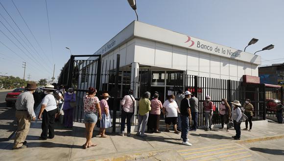 Banco de la Nación. (Foto: GEC)