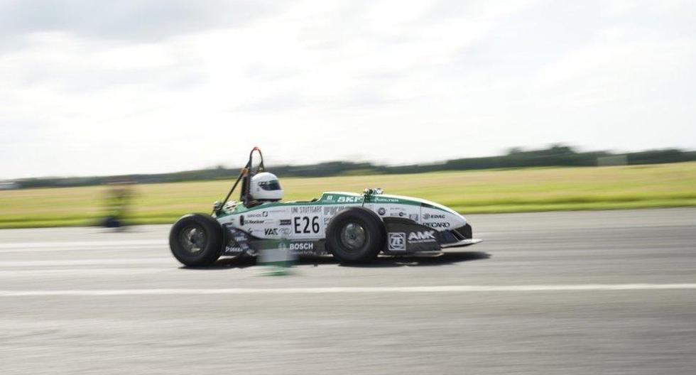Monoplaza eléctrico marca nuevo récord de aceleración - 4