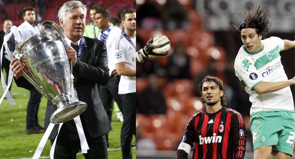 Carlo Ancelotti dirigió por tres meses a Claudio Pizarro en el Chelsea.