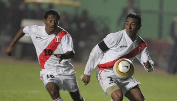 Nolberto Solano y Roberto Palacios jugaron por la Selección Peruana hasta 2009. (Foto: Archivo El Comercio)