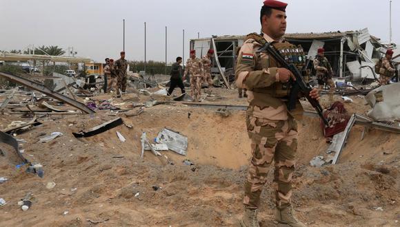 Irak: impactan cinco cohetes en una base militar que alberga tropas de Estados Unidos. (Foto referencial, Mohammed SAWAF / AFP).