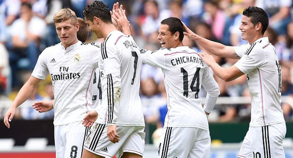 Con 'Chicharito' y Keylor Navas, Real Madrid recibe al Elche