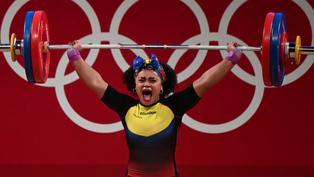 Tokio- 2020: América Latina termina su participación en halterofilia con más medallas