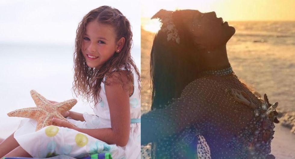 Danna Paola inició en la televisión cuando tenía 4 años de edad. Poco a poco fue abriendo paso en la música hasta convertirse en la artista que es hoy.