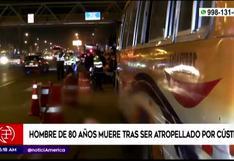Puente Piedra: Hombre de 80 años muere atropellado