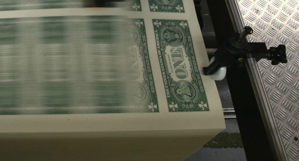 El dólar tuvo una tendencia bajista la semana pasada. (Foto: AFP)