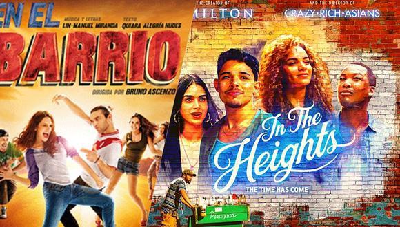 """La obra musical """"In The Heights"""" vuelve a sonar fuerte gracias al estreno en streaming de una película. En el Perú, se hizo también un montaje, en el año 2016. (Fotos: Archivo/ Difusión)"""