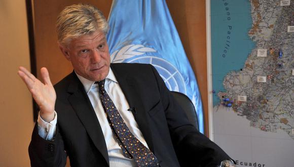 La ONU ha decidido suspender temporalmente al funcionario chileno Fabrizio Hochschild. (Foto: DIANA SANCHEZ / AFP)