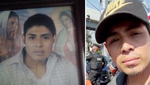 Con estas imágenes compartidas en su Facebook, Eusencio Córdova, intenta demostrar que Miguel Ángel Córdova, conocido como Angie, es su hermano que pensaba había fallecido hace siete años. El hombre se hizo 'viral' por su relato sobre como sobrevivió al colapso del metro de Ciudad de México. (Facebook / Logan Leon).