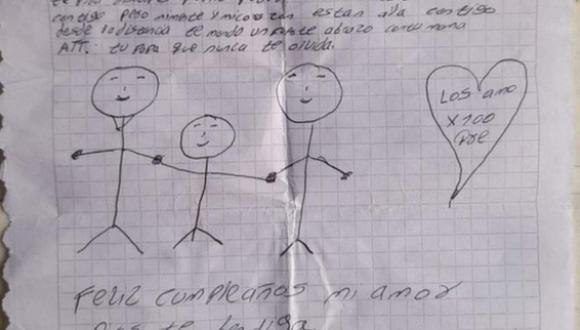 Antes de morir por COVID-19, un padre le escribió a su hijo una conmovedora carta que dio la vuelta al mundo. (Foto: Sucre Ola Politica / Facebook)