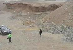 Cañete: hallan cuerpo sin vida de joven mujer en descampado de Mala | VIDEO