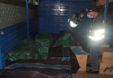 Pucusana: 300 mil cigarrillos de contrabando fueron incautados en camión procedente de Bolivia