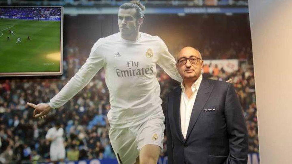 El representante de Gareth Bale. (Foto: EFE)