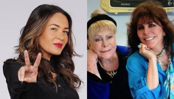 Yolanda Andrade envía mensaje a Verónica Castro tras perder a su madre. (Foto: Captura Instagram)