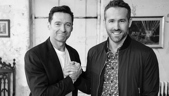 Ryan Reynolds y Hugh Jackman confirmaron que trabajarán juntos en un proyecto. (Foto: @hughJackman)