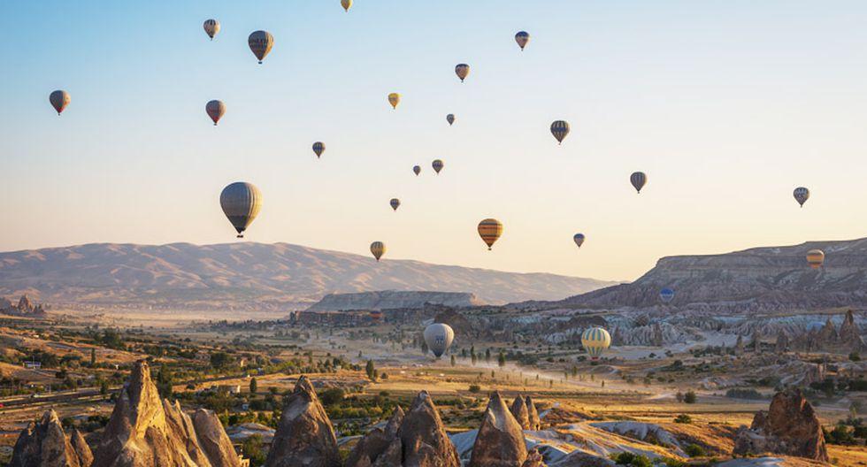 En Cappadocia (Turquía) sorpréndete con la vista de sus chimeneas de hadas.(Foto: Shutterstock)