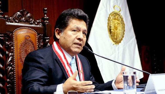 """Carlos Ramos Heredia: """"Yo no voy a renunciar, yo no arrugo"""""""