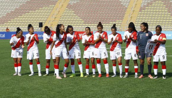 La selección peruana de fútbol femenino jugará cuatro amistosos previos a su participación en los juegos Panamericanos Lima 2019. (Foto: El Comercio)