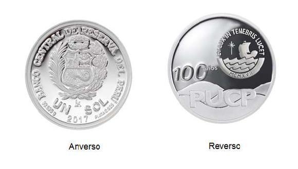 BCR lanzó moneda conmemorativa por los 100 años de la PUCP