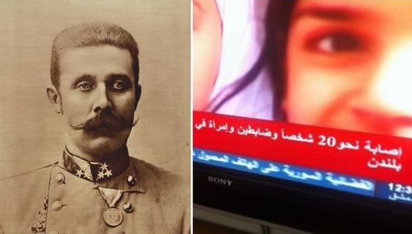 TV Siria lanza como primicia una noticia de hace 100 años