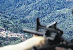 Vraem: emboscada terrorista en Canayre deja un policía y un militar muertos