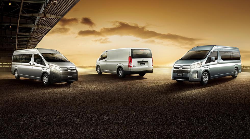 Esta sexta generación de la Toyota Hiace prioriza el confort y satisfacción de los ocupantes durante su viaje. (Fotos: Toyota).