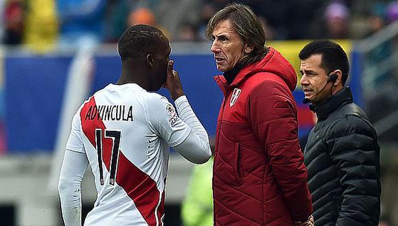 Luis Advíncula jugó 6 partidos en esa edición de la Copa América de Chile. (Foto: AFP)