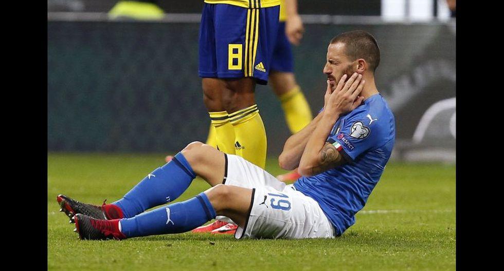 Italia fuera del Mundial Rusia 2018. (Foto agencias)