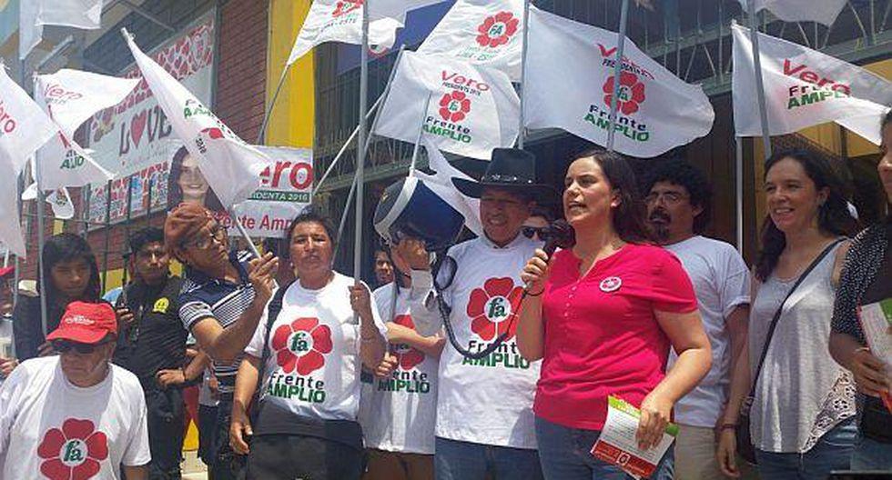 Marisa Glave y Manuel Dammert encabezan lista del Frente Amplio