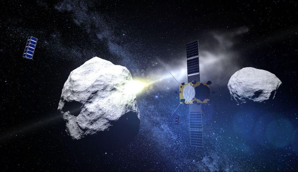 Tras la redefinición de planeta de 2006, que reclasificó a este cuerpo como planeta enano, técnicamente es Palas, encontrado en 1802, el primer asteroide descubierto. (Foto: AFP)