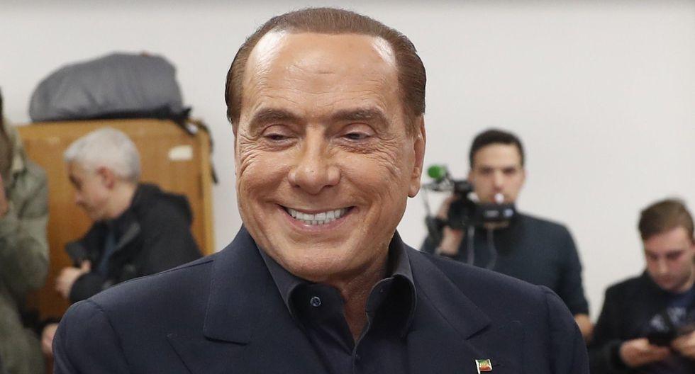 Silvio Berlusconi está inhabilitado por una condena por fraude fiscal y tiene numerosos procesos pendientes. Sin embargo, a sus 81 años guiará la coalición que las encuestas señalan como favorita en la carrera electoral en Italia. (Foto: AP)