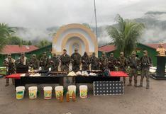 Fuerzas Armadas incautan municiones y armamentos de Sendero Luminoso en Cusco