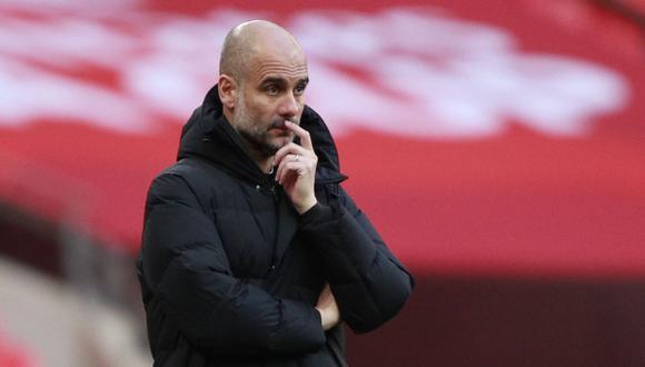 Pep Guardiola cuestionó las formas de la Superliga europea. (Foto: Reuters)