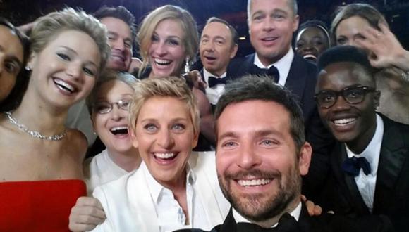 Selfie del Óscar tiene valor derivado de casi US$1.000 millones